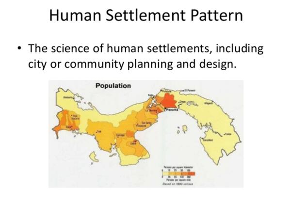 Human Geography: Human Settlements Notes | EduRev