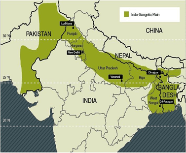 Physical Geography of India (Part- 1) Notes   EduRev
