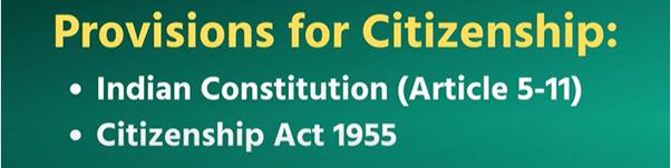 Citizenship- 3 UPSC Notes   EduRev