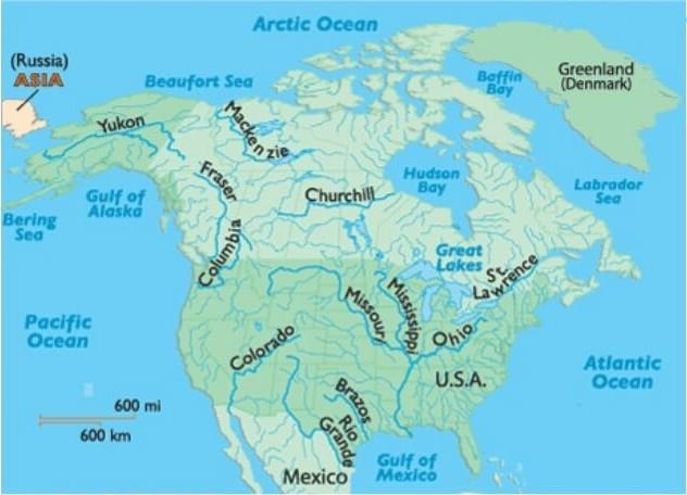 Geography of North America (Part - 2) Notes | EduRev