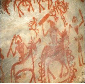 प्रागैतिहासिक काल कला - रॉक पेंटिंग UPSC Notes   EduRev