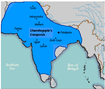 मौर्य साम्राज्य (322-185) ई.पू. UPSC Notes | EduRev