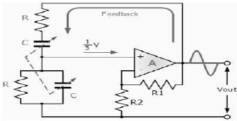 Wien Bridge Oscillator Electrical Engineering (EE) Notes | EduRev