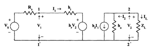 Analysis Of a Transistor Amplifier Circuit Using H-Parameters Electrical Engineering (EE) Notes   EduRev