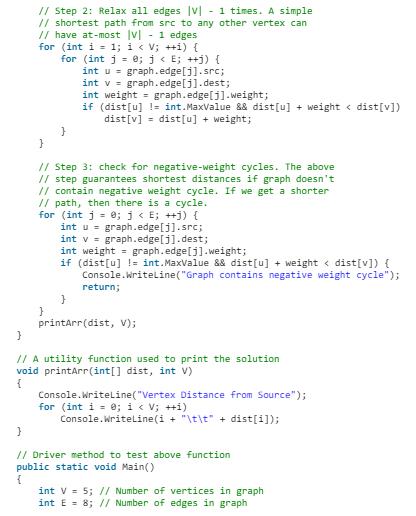 Bellman-Ford Algorithm Notes | EduRev