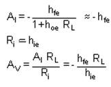 Simplified Common Emitter Hybrid Model Electrical Engineering (EE) Notes | EduRev