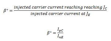 Transistor Current Component Electrical Engineering (EE) Notes | EduRev