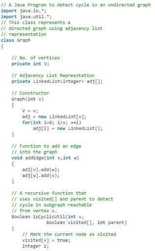 Undirected Graph Notes | EduRev