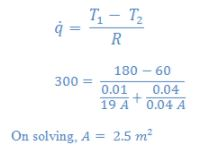 Conduction: One Dimensional (Part - 2) Chemical Engineering Notes | EduRev