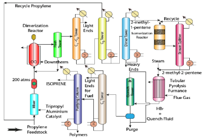 Isoprene and Oxoprocessing Chemical Engineering Notes | EduRev