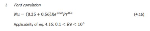 Forced Convective Heat Transfer (Part - 4) Chemical Engineering Notes | EduRev
