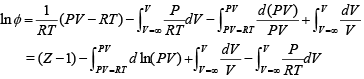 Fugacity Expressions for Pure Gases Civil Engineering (CE) Notes | EduRev