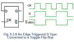 Toggle Flip-flop: D-Type Flip Flop Notes   EduRev