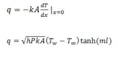 Convective Heat Transfer: One Dimensional (Part - 5) Chemical Engineering Notes | EduRev