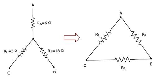 Star to Delta Conversion Electrical Engineering (EE) Notes | EduRev