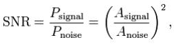 Signal To Noise Ratio Electronics and Communication Engineering (ECE) Notes   EduRev