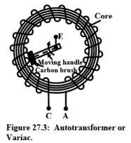 Auto Transformer Electrical Engineering (EE) Notes | EduRev