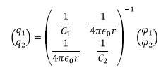 Coefficient of Potential and Capacitance Electrical Engineering (EE) Notes | EduRev