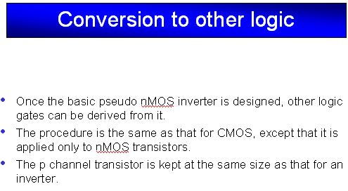 Pseudo NMOS Inverter (Part - 2) Electrical Engineering (EE) Notes | EduRev