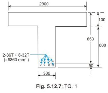 Flanged Beams - Numerical Problems (Part - 2) Civil Engineering (CE) Notes | EduRev