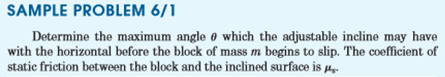Examples on Dry Friction Mechanical Engineering Notes | EduRev