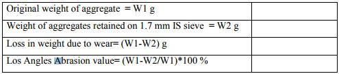 Determination of CBR and Road Aggregates Civil Engineering (CE) Notes | EduRev