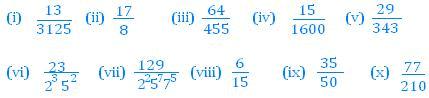 Math Solutions (Exercise 1.4) - Real Numbers, Class 10, Mathematics Class 10 Notes | EduRev