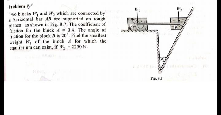 Problems related to engineering mechanics Mechanical Engineering Notes | EduRev