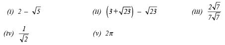 Ex 1.5 NCERT Solutions - Number System Class 9 Notes | EduRev