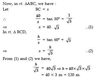 Value Based Questions- Some Applications of Trigonometry Class 10 Notes   EduRev