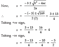 Long Answer Type Questions - Quadratic Equations Class 10 Notes | EduRev