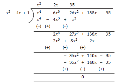 Ex 2.4 NCERT Solutions - Polynomials Class 10 Notes | EduRev