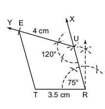 NCERT Solutions(Part- 2)- Practical Geometry Class 8 Notes | EduRev