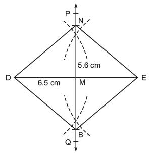 NCERT Solutions(Part- 1)- Practical Geometry Class 8 Notes | EduRev