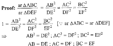 Ex 6.4 NCERT Solutions- Triangles Class 10 Notes | EduRev