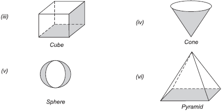Extra Questions- Visualising Solid Shapes Class 8 Notes   EduRev