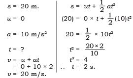 NCERT Solutions - Motion, Science, Class 9 Class 9 Notes | EduRev