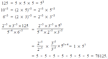 Extra Questions- Exponents and Powers Class 8 Notes | EduRev