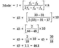Long Answer Type Questions(Part- 2)- Statistics Class 10 Notes | EduRev
