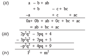 NCERT Solutions (Part- 1)- Algebraic Expressions and Identities Class 8 Notes | EduRev