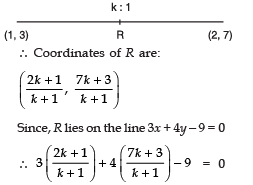 Short Answer Type Questions(Part- 1)- Coordinate Geometry Class 10 Notes | EduRev