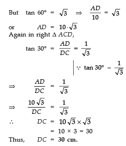Very Short Answer Type Questions- Introduction to Trigonometry Class 10 Notes | EduRev