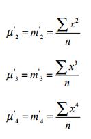 Moments - Measures of Dispersion, Business Mathematics & Statistics B Com Notes   EduRev