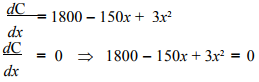 Maxima And Minima - Differentiation, Business Mathematics & Statistics B Com Notes | EduRev