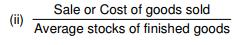 Ratio Analysis (Part - 2) - Analysis and interpretation of Financial statements, Cost Accounting B Com Notes | EduRev