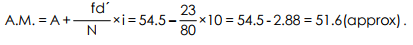 Arithmetic Mean - Measures of Central Tendency, Business Mathematics & Statistics B Com Notes | EduRev