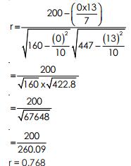 Karl Pearson`s Coefficient of Correlation-Correlation & Regression, Business Mathematics & Statistic B Com Notes | EduRev