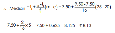 Mean Deviation - Measures of Dispersion, Business Mathematics & Statistics B Com Notes | EduRev