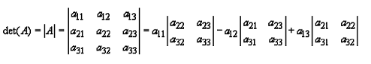 Calculation of Values of Determinants upto Third Order - Matrices and Determinants, Business Mathema B Com Notes | EduRev