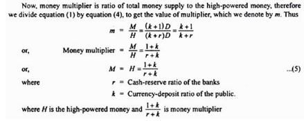 Money supply in India, Indian Financial System (Part -1)- Introduction to Indian Financial System B Com Notes | EduRev